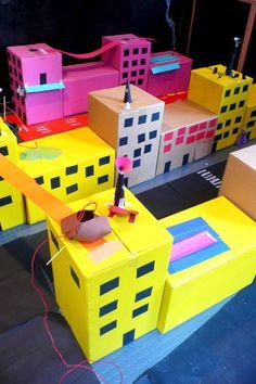 Curso de introducción a la arquitectura para niños. Por MAUSHAUS.