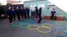 Juegos Educación Física - Campo Minado