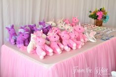 Unicorn favors from a Rainbow Unicorn Birthday Party on Kara's Party Ideas | KarasPartyIdeas.com (27)