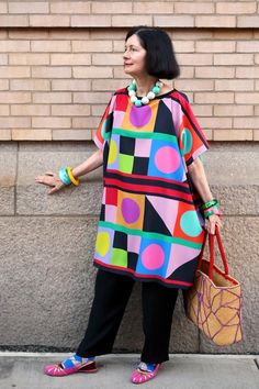 ADVANCED STYLE: Carol Color Blocks