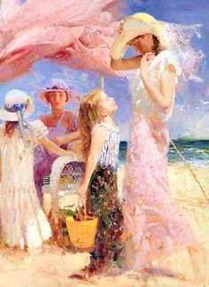 'At The Seaside'