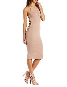 Rehab Cut-Out Bodycon Dress: Charlotte Russe