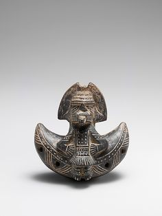 Ocarina   Period:   Pre-Columbian   Date:   1300–1500   Geography:   Sierra Nevada de Santa Marta, Colombia   Culture:   Tairona People; Gayraca style   Medium:   Ceramic