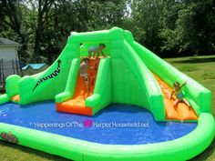 Bring the Water Park to Your Back Yard with Blast Zone Crocodile Isle–Review & Giveaway