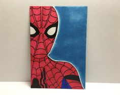 "2.5"" x 3.5"" Spiderman Civil War Sketch Card"