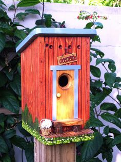 The OUTHOUSE Birdhouse
