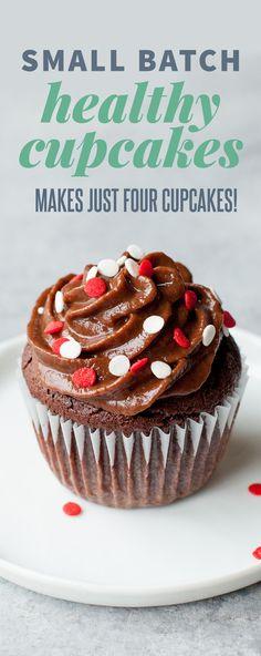 Healthier Chocolate Cupcakes