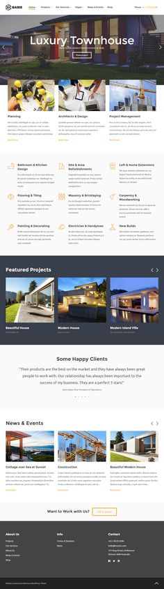 Basis is Premium full #Responsive Retina #WordPress #ConstructionCompany Theme. Visual Composer. WooCommerce. Video Background. Test free demo at: http://www.responsivemiracle.com/cms/basis-premium-responsive-construction-business-wordpress-theme/