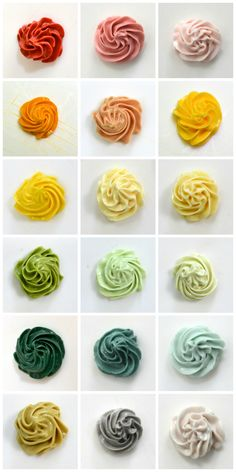 Natural Food Color Icing Guide