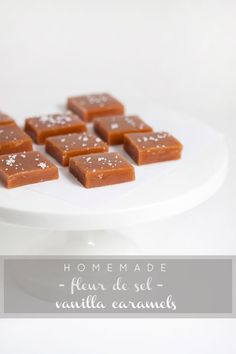 :: armelle blog ::: fleur de sel vanilla caramels + a giveaway from harmon's grocery ...