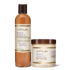 Carole's Daughter Black Vanilla Shampoo and Smoothie. Must haves!