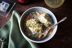 Slow Cooker Chicken with Buttermilk Dumplings