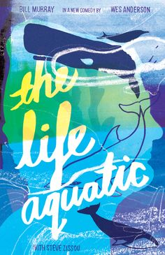 Holly Wales | Illustrator & Educator | felt tip marker pen collage handmade colour illustr: The Life Aquatic