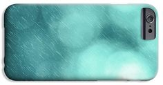 Pattern IPhone 6s Case featuring the photograph Bokeh Rain Pattern by Sebastien Coell
