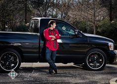 senior boy with truck, senior boy poses