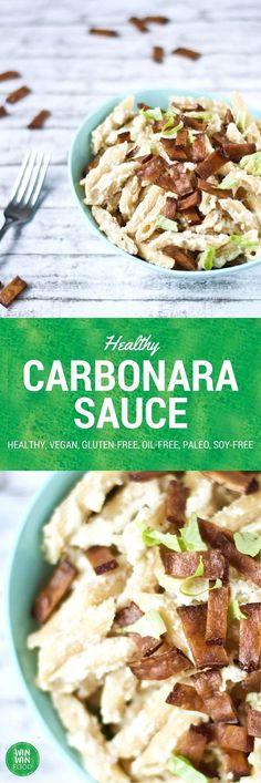 Healthy Carbonara Sauce