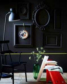 ★my black ikea chair