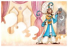 Character Design Portfolio- Fairy Tales by Toby Allen, via Behance