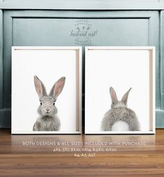 Bunny butt Rabbit print Easter decor PRINTABLE por TheCrownPrints