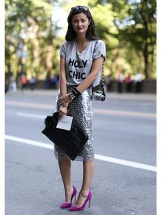 New York streetstyle | ELLE