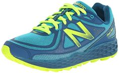 New Balance Womens Fresh Foam Hierro Trail Shoe TealGreen 105 B US ** Click image for more details. (This is an affiliate link) #WomensTrailRunningShoes