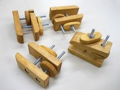 Shop-Made Rugged Stubby Clamps