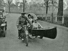 Canoe sidecar