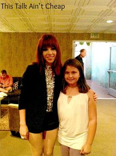 Amanda and Carly Rae Jepsen