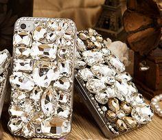 Bling Gem Jewel, iphone 4 case, iphone 4s case,iphone 5 case, iphone cover, phone case,iphone case,iphone 4 cases,iphone 5 cases. $18.65, via Etsy.