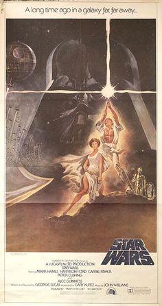Posteritati: STAR WARS 1977 U.S. 3 sheet (41x81)