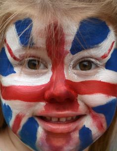 Wild fans of London 2012 - A little Great Britain supporter in anticipation of the Opening Ceremony for the London 2012 Olympic Games at Olympic Stadium on July 27, 2012 in London, England. (Getty Images)