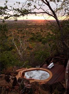 outdoor bathtub on pinterest outdoor tub outdoor baths and outdoor bathrooms. Black Bedroom Furniture Sets. Home Design Ideas