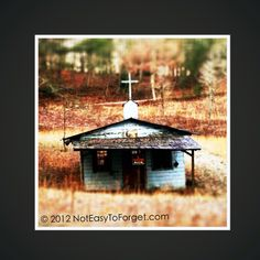 Old forgotten church on my road in North GA