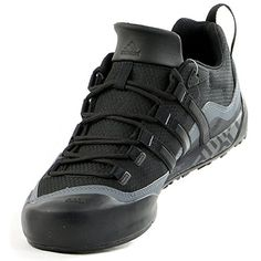 041c40d8fe78 Trainers · Adidas Outdoor Terrex Swift Solo Approach Shoe - Men's Black/ Black/Lead 10.5 ~