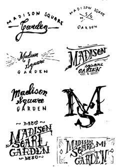 Typography inspirations by Justyna Frąckiewicz, via Behance