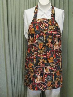 Adult Apron Uncle Sam, American, Patriotic,Reversible. $22.00, via Etsy.