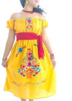 Soledad Handmade mexican embroidered off by elizabethpalmer, $95.00