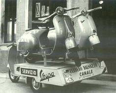 Vespa Lifestyle: Explained i Scooter Garage, Vespa Ape, Piaggio Vespa, Best Scooter, Lambretta Scooter, Scooter Motorcycle, Vespa Scooters, Classic Vespa, Italian Scooter