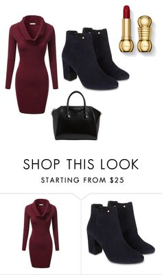 """Bez naslova #8"" by lejlakonjic ❤ liked on Polyvore featuring J.TOMSON, Monsoon and Givenchy"