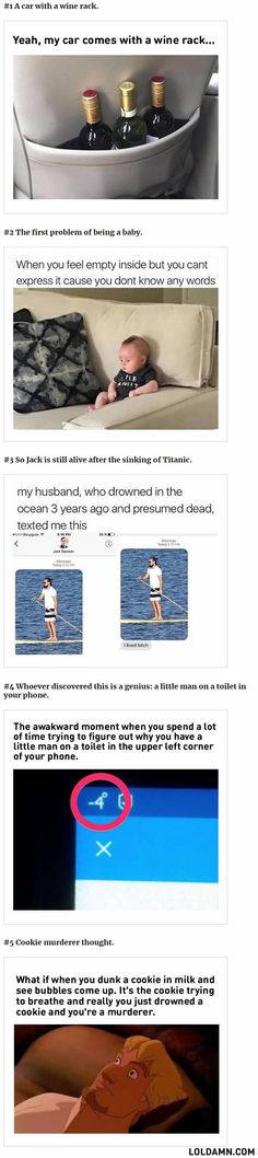 I like that the name for the drowned guy is Jack Dawson on the contacts