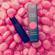 Another one!  We are loving the Candy Tint Balms, heres the Cherry Drop  Available in store now!! #new #candy #tint #balm #sleek #sleekmakeup #lips #cherry #thestyleco #london #bridlington #TSCoLDN #style #inspo #makeup #blogger #cherrydrop