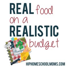 One of the primary complaints I hear about eating REAL food is that it is too expensive.  Here is how my family of 7 has figured out how to eat Real Food on a Realistic Budget.