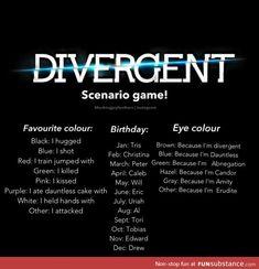 I attacked Peter because I am dauntless. Sounds legit. Divergent. Insurgent. Allegiant. Divergent Quiz. Divergent Test.