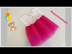 Yazlık Prenses Bebek Elbise Modeli(Detaylı Anlatımlı) - YouTube Christmas Stockings, Baby Dresses, Holiday Decor, Crochet, Crochet Doilies, Towels, Girls, Vestidos, Shoe