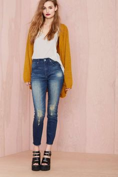 Nasty Gal Denim - The Distressed Out