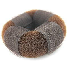 iLuLu Large Size Hair Styling Chignon Donut Bun Maker with HOOK & LOOP (1 Piece Brown)  //Price: $ & FREE Shipping //     #hair #curles #style #haircare #shampoo #makeup #elixir