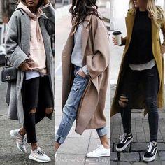 New Fashion High Street Style Chic Ideas High Street Fashion, Fashion Mode, Look Fashion, Korean Fashion, Fashion Trends, Womens Fashion, Ladies Fashion, Daily Fashion, Fashion Photo