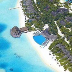 The Maldives islands - Anantara Dhigu