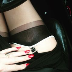 The Secrets In Lace Celine Reinforced Heel and Toe stocking is one of the most versatile stockings we sell.