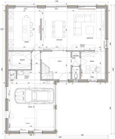 Dream Home Design, My Dream Home, House Design, Building Renovation, Building Plans, Dream House Plans, House Floor Plans, Arch House, Apartment Floor Plans